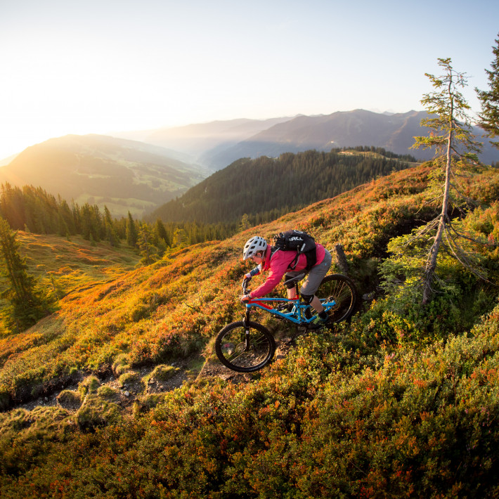 Biken in Saalbach | © David Schultheiss