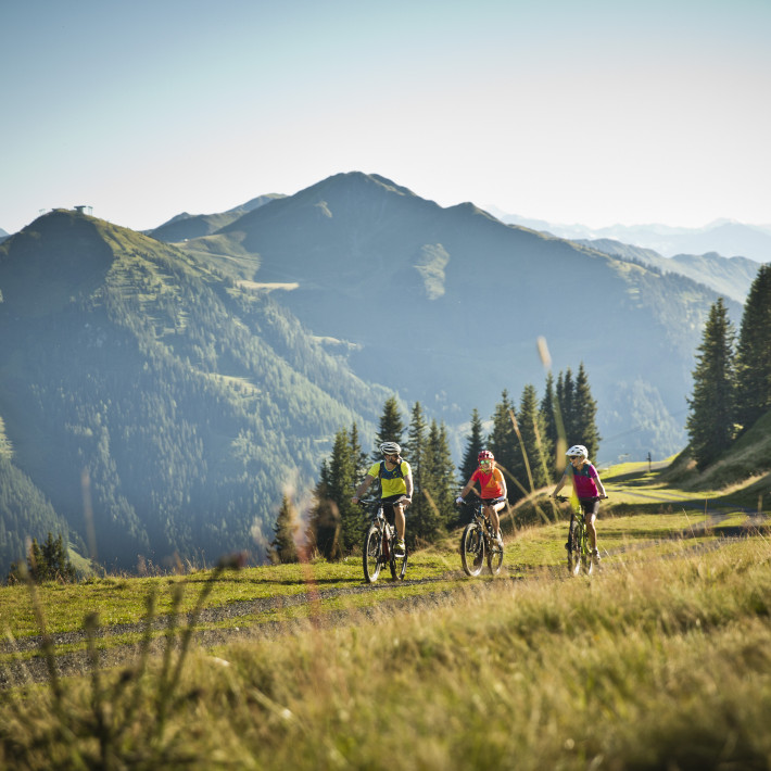 Mountainbiking in Saalbach | © Mirja Geh / saalbach.com