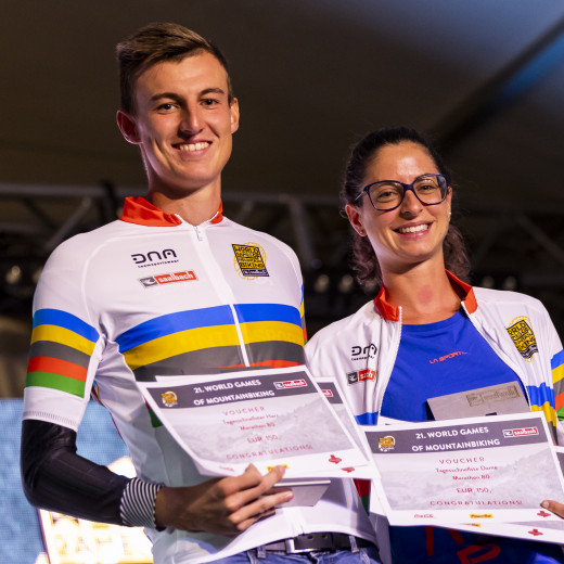 World Games of MTB Saalbach Hinterglemm - Winners Marathon | © Martin Steiger