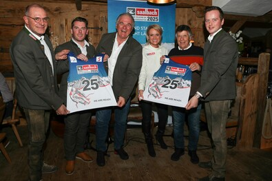 Saalbach 2025 - Media Event | © GEPA Pictures
