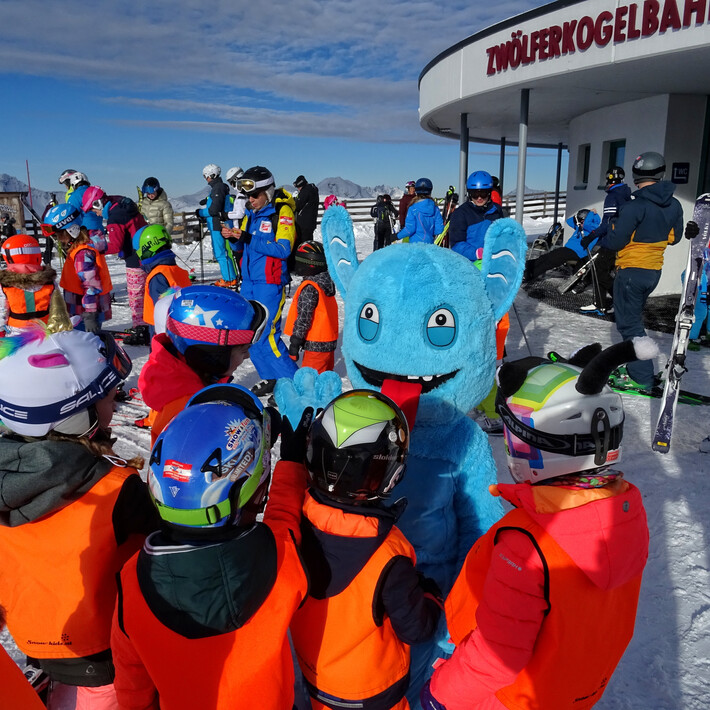Meet & Greet with Slopy | © saalbach.com/QParks