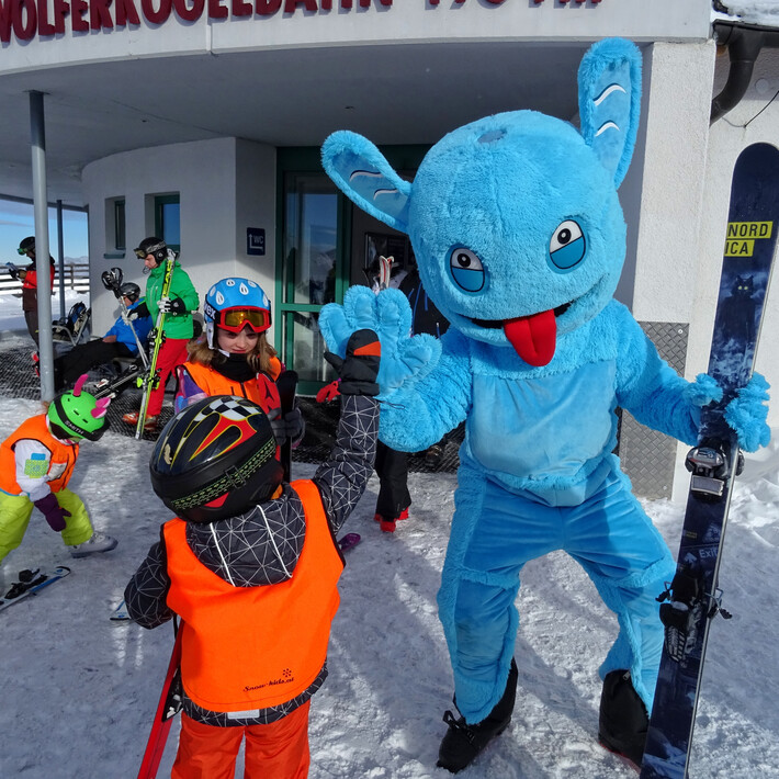 Meet Slopy the Funslope monster | © saalbach.com/QParks