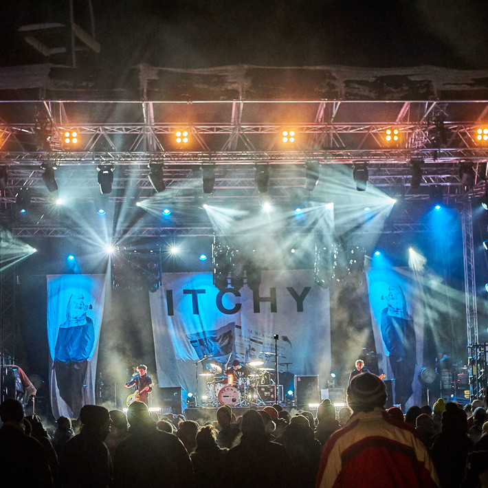 Itchy live beim BERGFESTival 2017 | © Daniel Roos