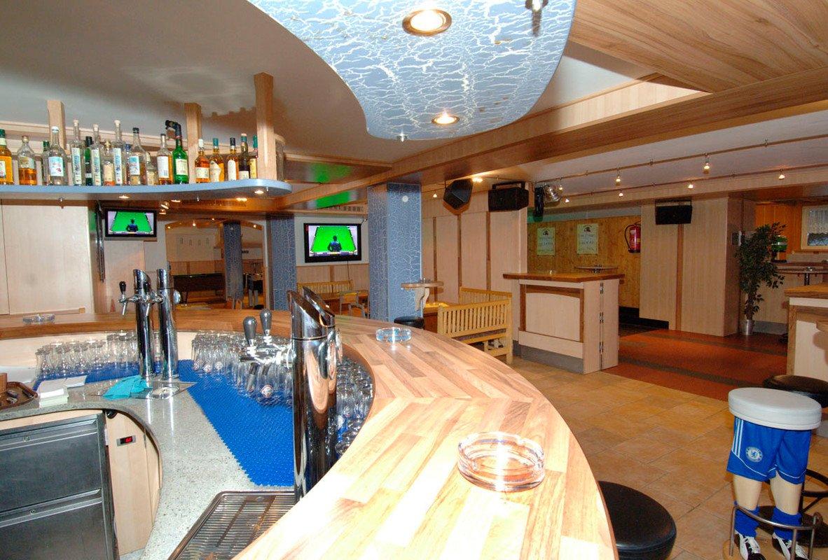 Yellow Furniture In Bobbys Pub