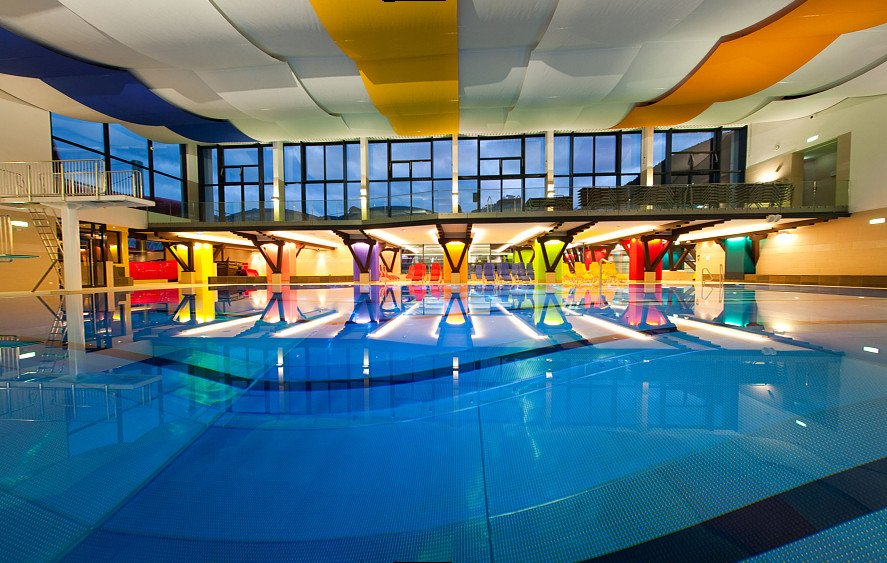 Public swimming areas and indoor swimming pool Zell am See