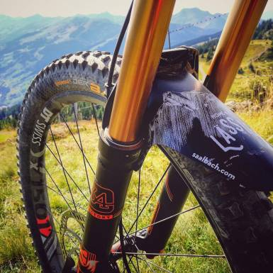 MTB dirt guards | © saalbach.com