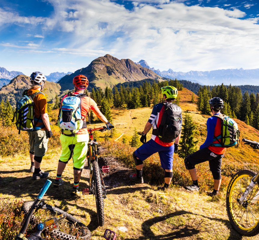 guiding summer activities saalbach hinterglemm rh saalbach com best mountain bike chain guide Mountain Bike Guides in Bolivia
