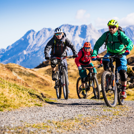 Mountainbiking in Saalbach | © saalbach.com