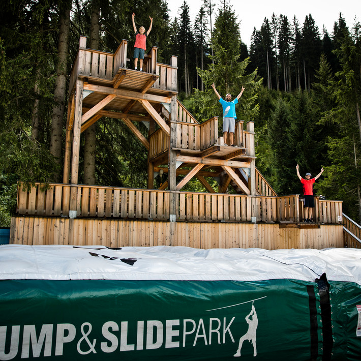 Outdoor Jump and Slide | © saalbach.com , Mirja Geh