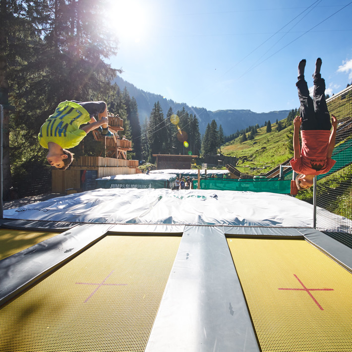 Outdoor slip and slide | © saalbach.com , Mirja Geh