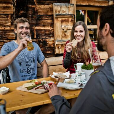 Culinary delights in and around Saalbach's huts