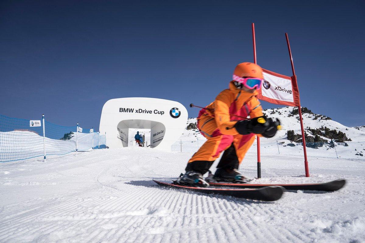 Bmw Ski >> SkiMovie Piste: BMW xDrive Cup   Infrastructure in Saalbach