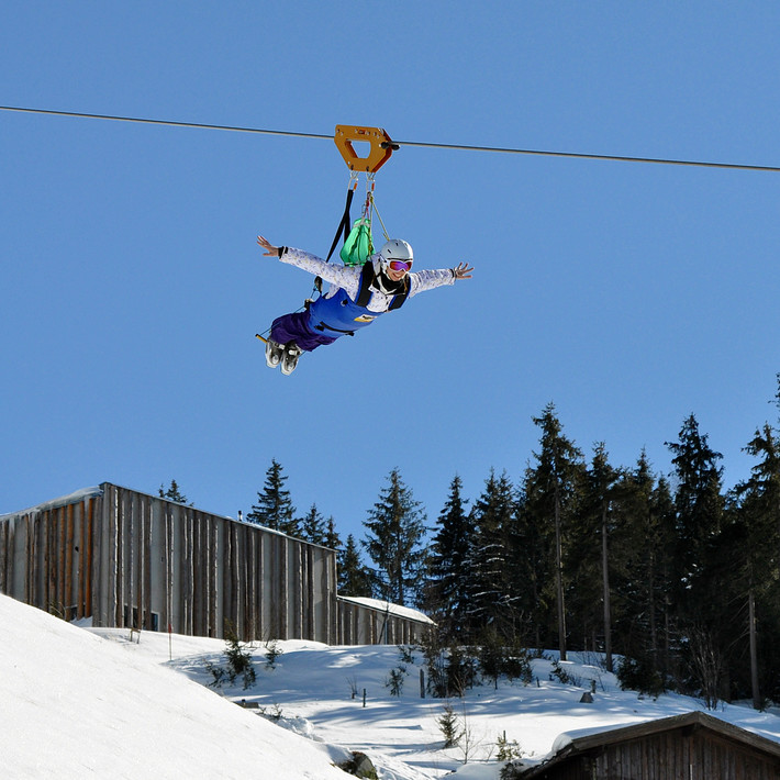 flying fox | © saalfelden-leogang.com