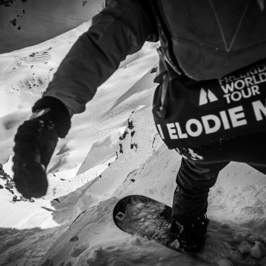 Elodie at the start in Verbier | © T.Repo