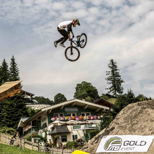 In action at the GlemmRide Slopestyle | © Rich Kurowski