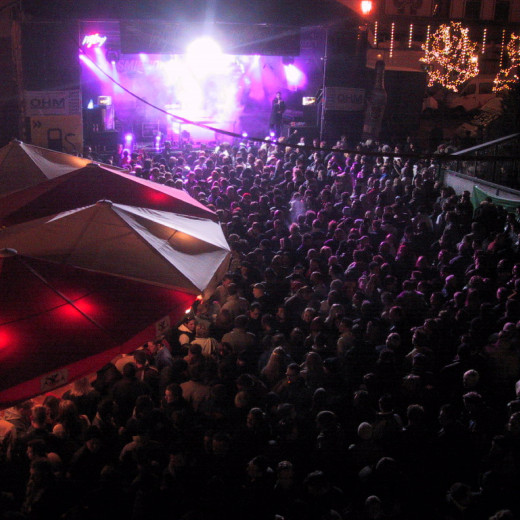 Mainstage in the center of Saalbach in 2002 | © c saalbach.com
