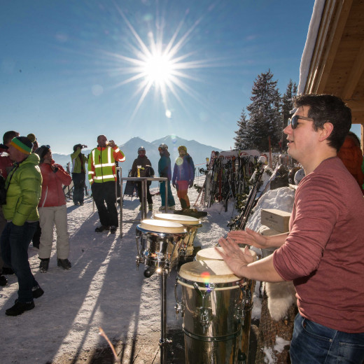 Live-Percussion from Trommellichter. | © Edith Danzer