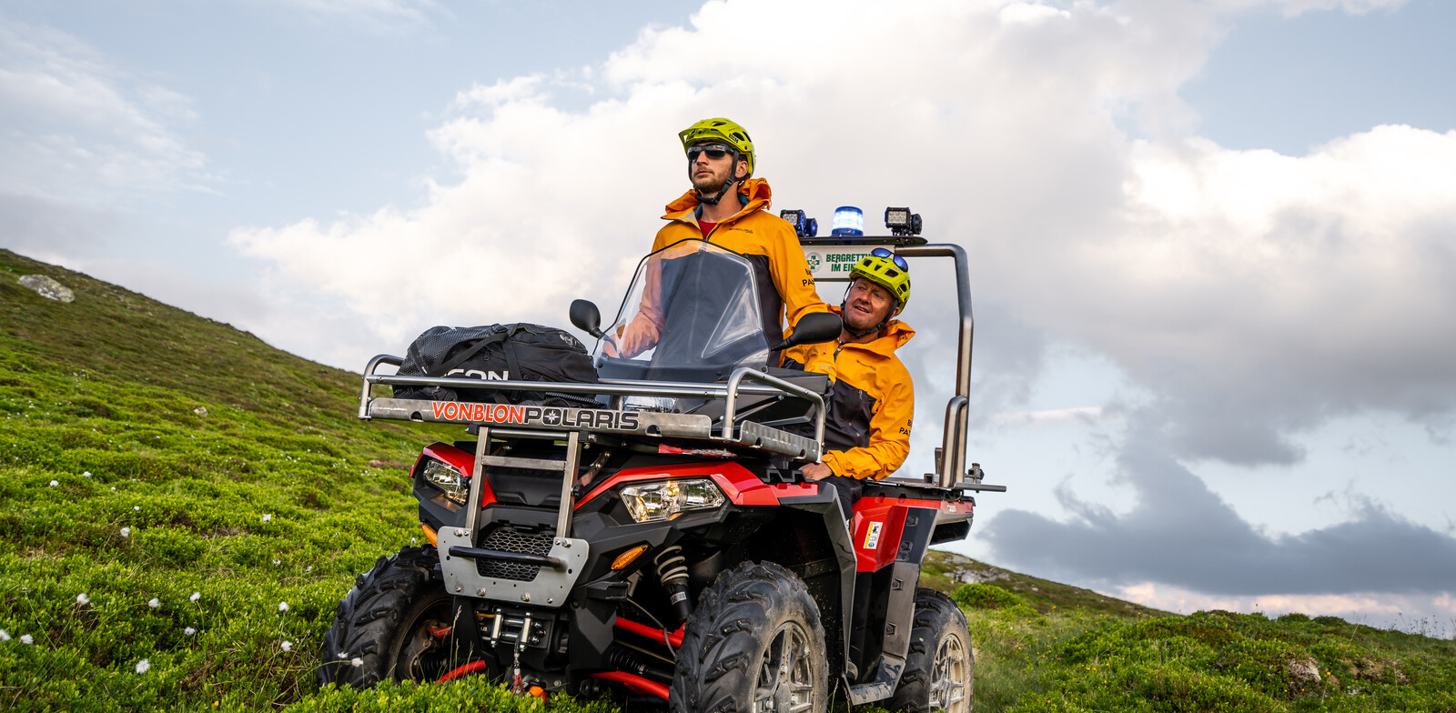 Quads are also available for the Bike Patrol. | © © saalbach.com, Wout van de Donk