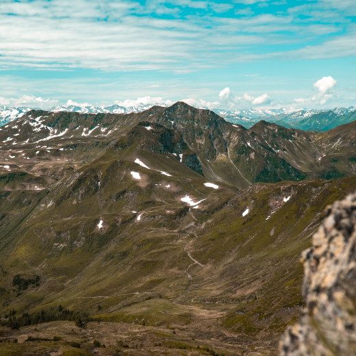 The valley end and Hohe Tauern | © bestmountainartists
