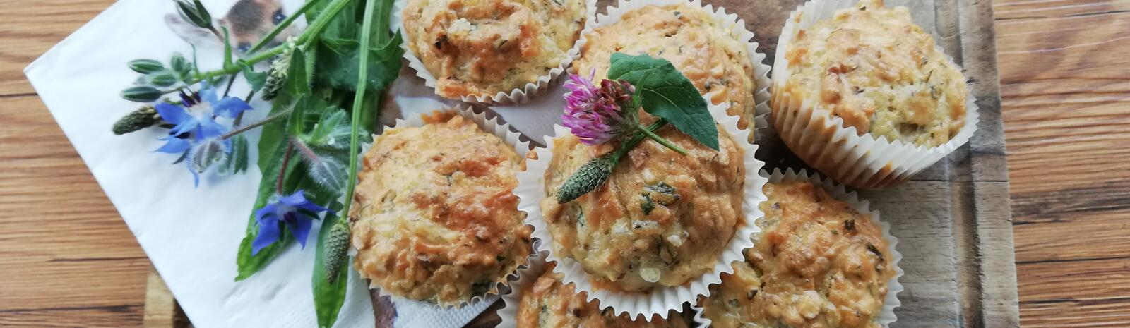 Mountain Cheese & Cranberry Muffins