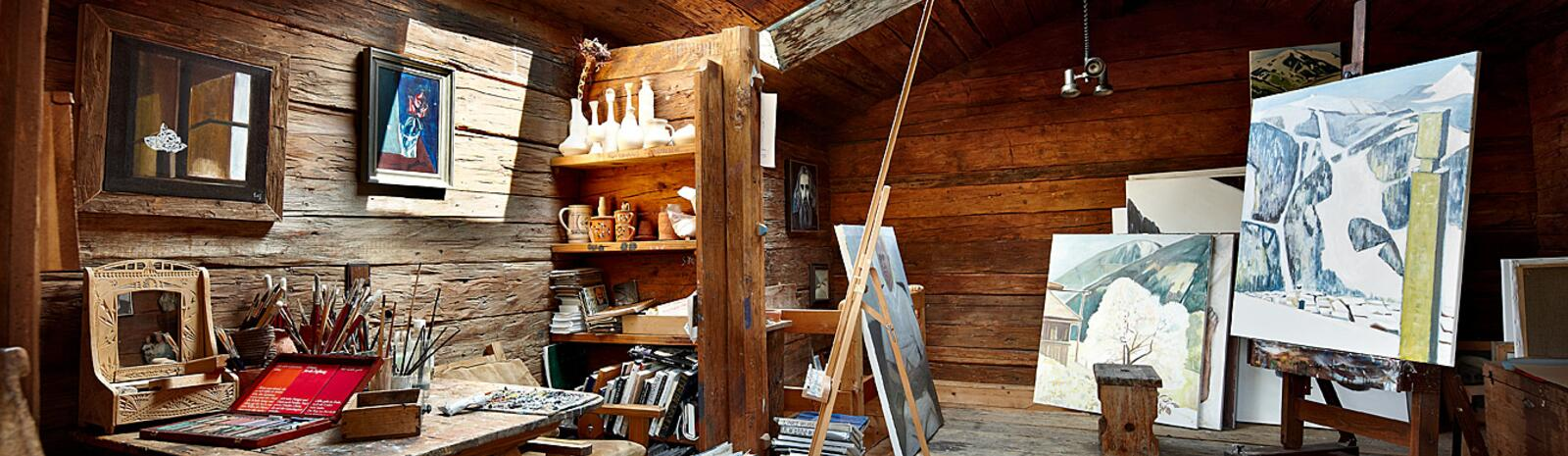 The painter's studio | © Michael Huber | Huber Fotografie