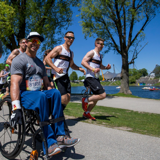 Als Teilnehmer des Wings for Life World Runs. | © Marc Muller