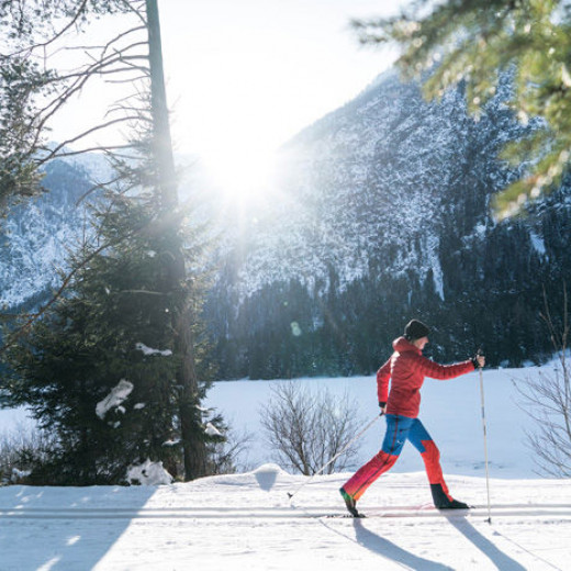 cross-country skiing releases my feel-good hormones | © Christine Neder