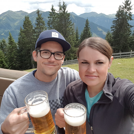Patrick and Jessica are true Saalbach-Fans | © Privat