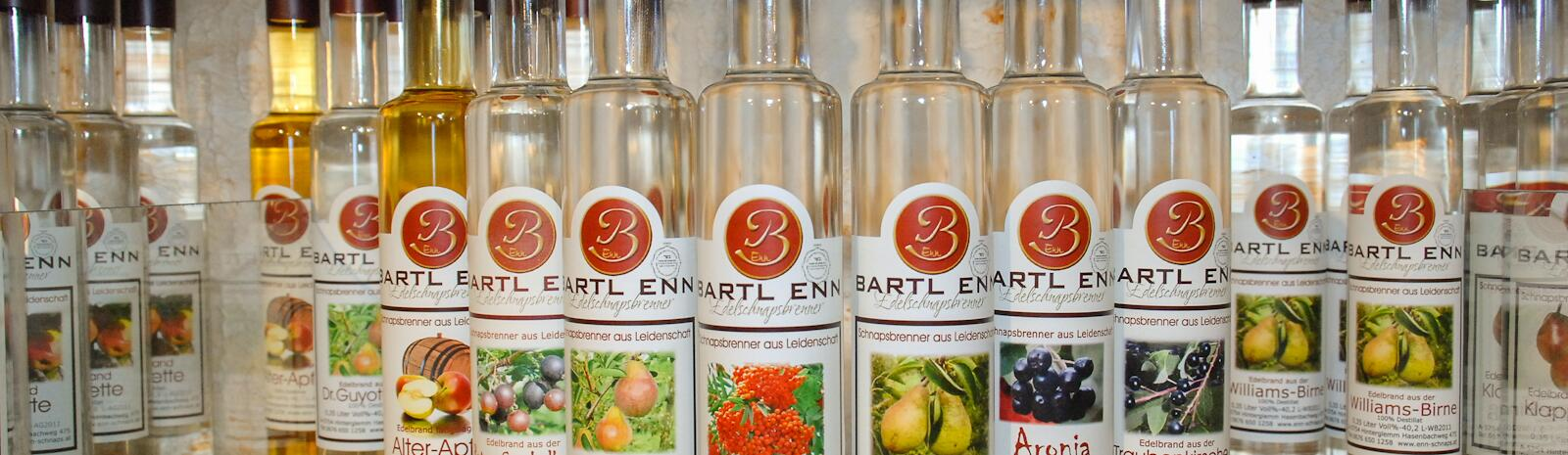 30 different types of spirits and just as many liqueurs | © Edith Danzer