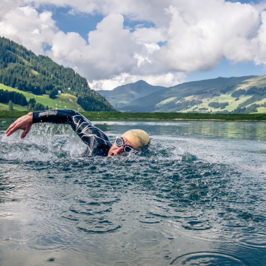 Swim training with a view | © Edith Danzer