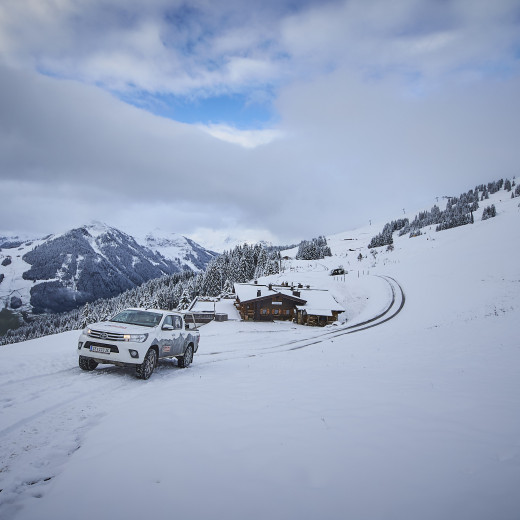 4WD and winter tyres required! | © Daniel Roos