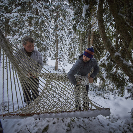 Winter break for hammocks | © Daniel Roos